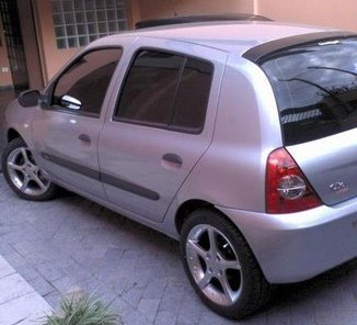 """Renault Clio com rodas Scorro S-171 Aro 16"""""""